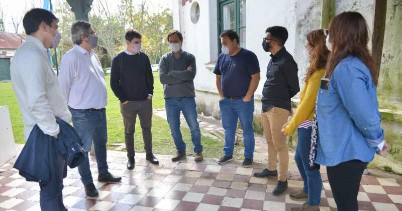 Las autoridades nacionales participaron también de una reunión con productores de ganadería regenerativa