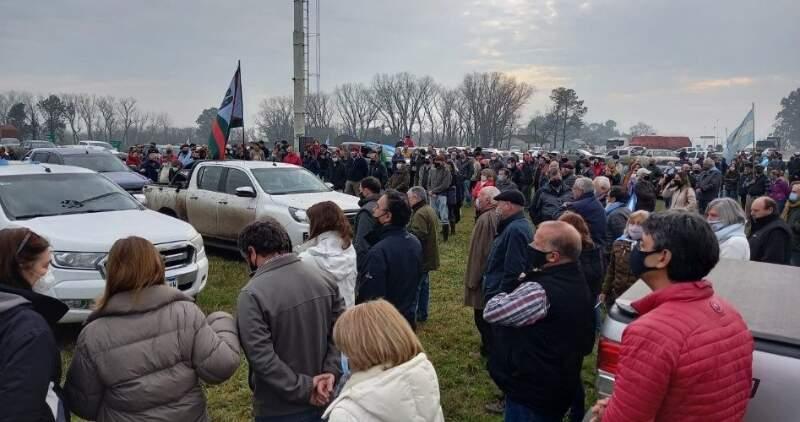 El presidente de la Sociedad Rural local habló de la movilización y las dificultades del campo en Bunker FM91.9