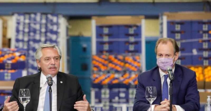 """""""El objetivo nuestro es dignificar el trabajo"""", afirmó el presidente Alberto Fernandez, al presentar el plan para 250 mil trabajadores rurales"""