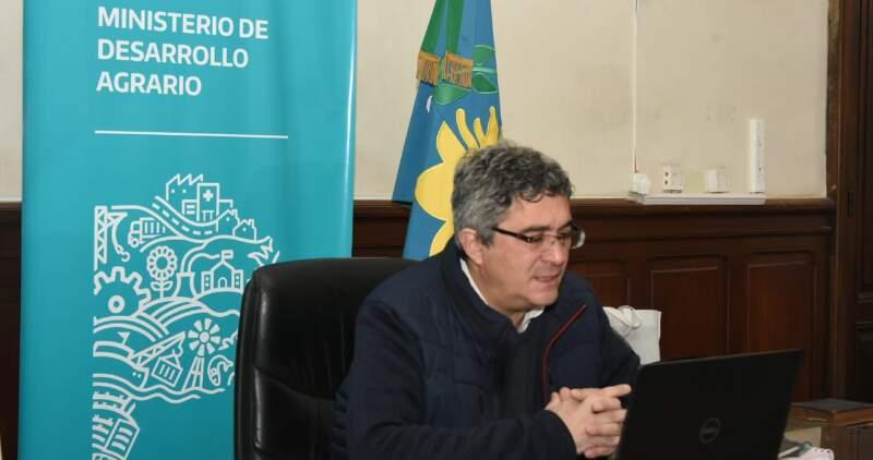 El Ministro de Desarrollo Agrario, Javier Rodríguez, encabezó el 5to encuentro de la Mesa Provincial de la Agricultura familiar