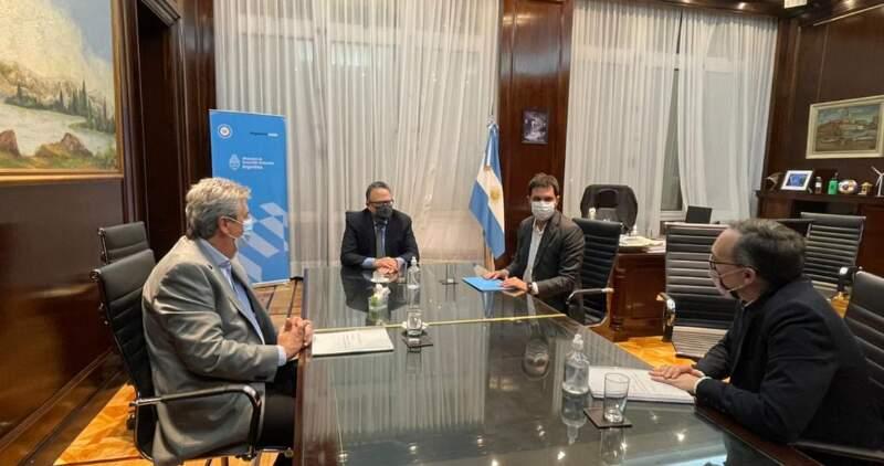 El Plan fue anticipado por el ministro Matías Kulfas, a integrantes del Consejo Agroindustrial Argentino, José Martins y Gustavo Idígoras (foto)