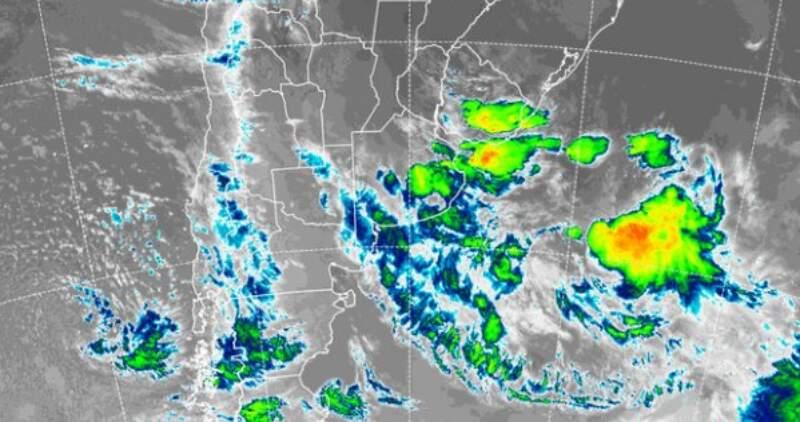 El Servicio Meteorológico Nacional emitió un aviso a corto plazo; se esperan precipitaciones de entre 10 y 25 milímetros