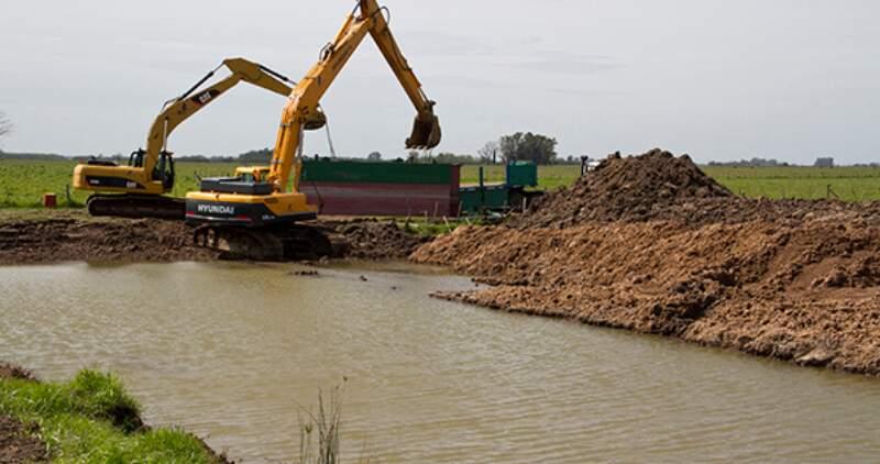 Río Salado: renegoncian crédito para obras